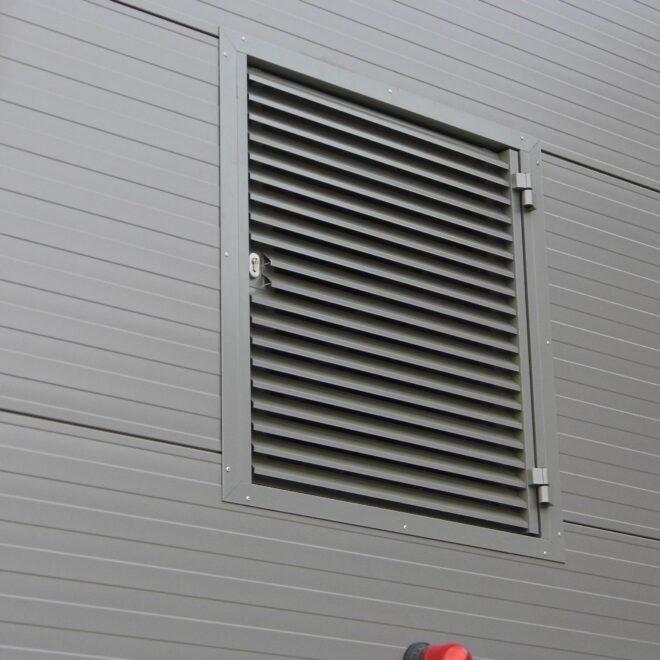 Budynek EME AREO - Osłony Techniczne