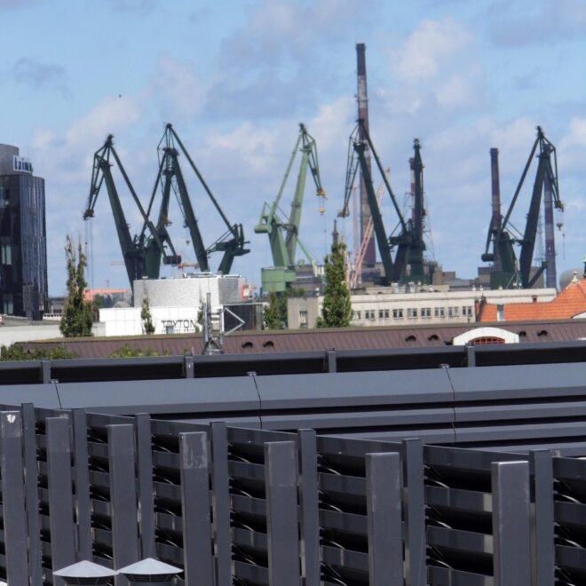 Budynek Rida wGdańsku - Osłony Techniczne - Żaluzje Akustyczne