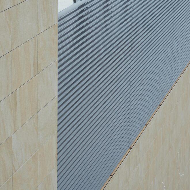City Center wRzeszowie - Osłony Techniczne - Żaluzje Elewacyjne - Żaluzje Wielkogabarytowe